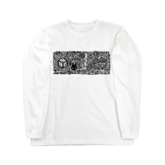 ものくろー Long sleeve T-shirts