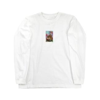ふぁみこん Long sleeve T-shirts