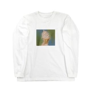 夏の終わりソフトクリーム Long Sleeve T-Shirt