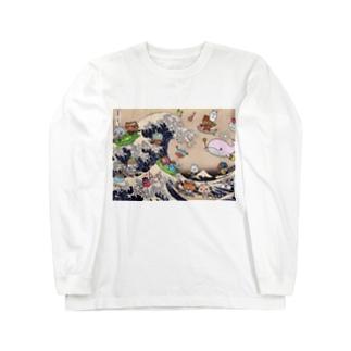 浮世いえーい Long sleeve T-shirts