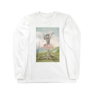 オルゴールバレリーナ Long Sleeve T-Shirt