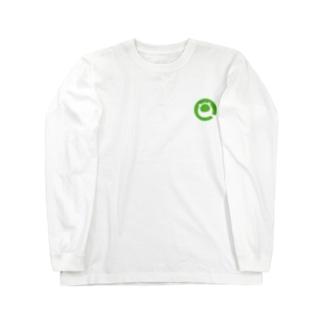 Qiitan ロングTシャツ(白・黒) Long Sleeve T-Shirt