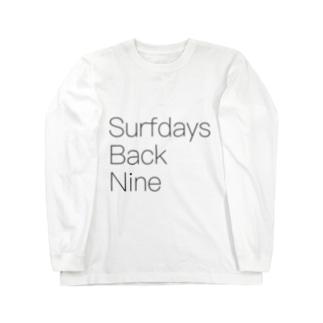 Surfdays Back Nine Long sleeve T-shirts
