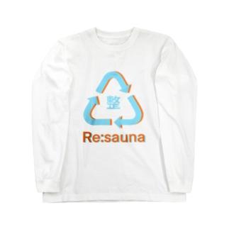 またまたのRe:sauna Long Sleeve T-Shirt