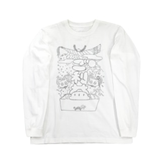 黒のご利益 Long sleeve T-shirts