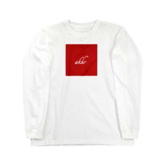 akhr red Long sleeve T-shirts
