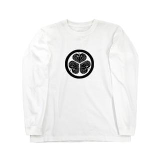 葵 Long sleeve T-shirts