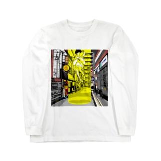 路地裏とSF Long Sleeve T-Shirt