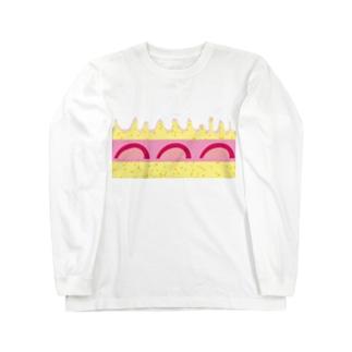 ケーキ🍰 Long sleeve T-shirts