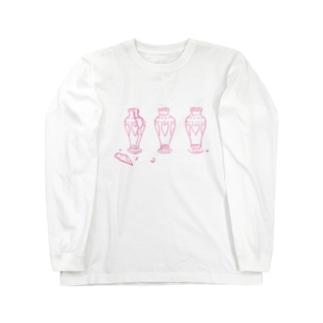 ピンクポーセリン Long Sleeve T-Shirt
