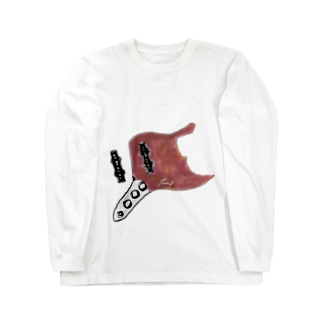 ジャズベプレイスタイル Long sleeve T-shirts