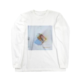 ガビガビのしるばにあ(ねこ) Long Sleeve T-Shirt