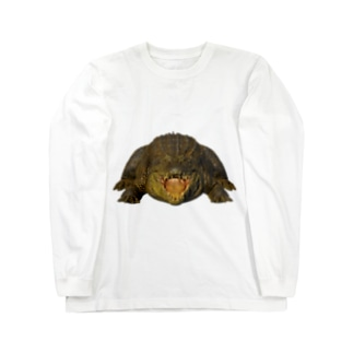 わにシャツ (001) ワニ 鰐 wani Long Sleeve T-Shirt