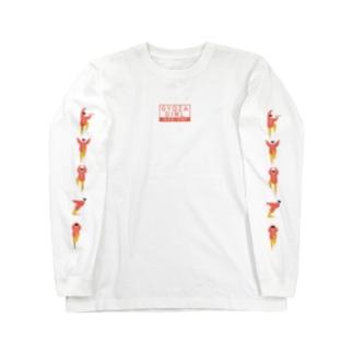 【黄桃】GYOZA Kung-Fu Lady  Long Sleeve T-Shirt