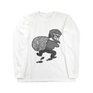 大泥棒 怪盗るぽん Long sleeve T-shirts