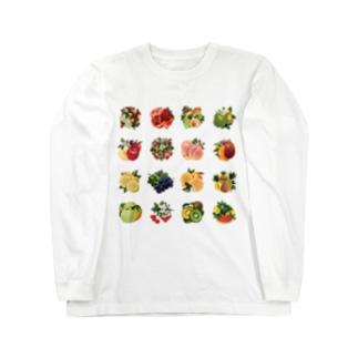【forseasons】フルーツ盛り合わせ Long Sleeve T-Shirt