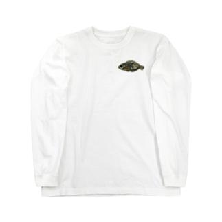 snaggedgorillaのホホワキュウセン Long Sleeve T-Shirt
