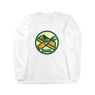 パ紋No.3066 原田建築 Long sleeve T-shirts