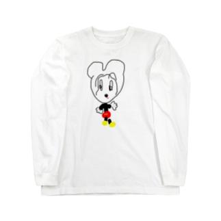ミッチ Long sleeve T-shirts
