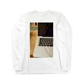 湯|||青争とPC Long sleeve T-shirts