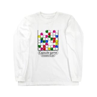 カプセルゲーム Long sleeve T-shirts