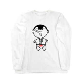 ヤンキー赤ちゃん Long sleeve T-shirts