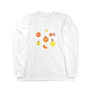 citrus fruits Long sleeve T-shirts