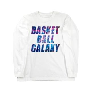 BASKETBALL GALAXY Long sleeve T-shirts