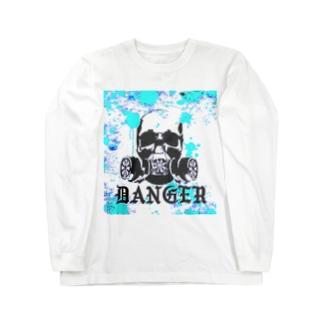 Danger‐sky Long sleeve T-shirts