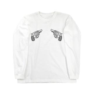 locanino ピストルデザインT Long Sleeve T-Shirt