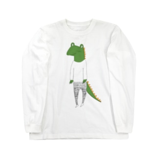 crocodile カラーバージョン Long sleeve T-shirts