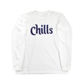 locanino Chillデザイン Long Sleeve T-Shirt