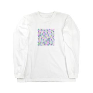 naisouyaのパステルカラー Long Sleeve T-Shirt