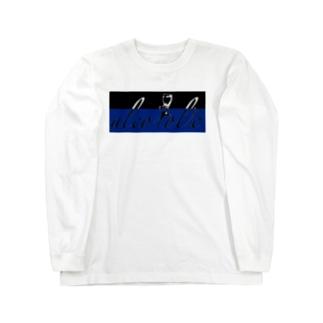 BOXロゴ Long sleeve T-shirts