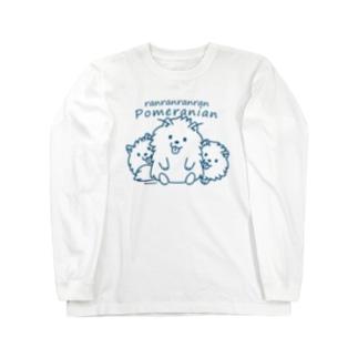 らんらんらんらんポメラニアンB*L Long Sleeve T-Shirt