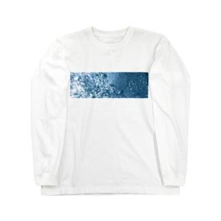 ウォーター Long sleeve T-shirts
