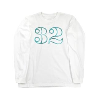 ナンバー32 Long sleeve T-shirts