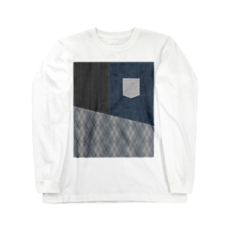 切り替えし-2 Long sleeve T-shirts