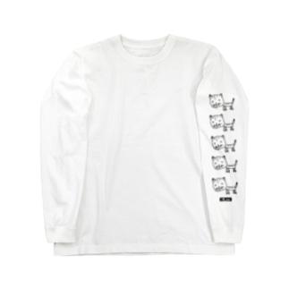 ながいせかいのふつうのねこT/FU TSU U NO NEKO long sleeve  T-shirt Long Sleeve T-Shirt