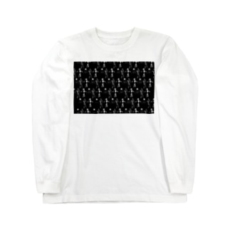 宇宙服柄  Long sleeve T-shirts