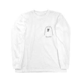 ポーカーフェイスで生きてゆく鳩 Long sleeve T-shirts