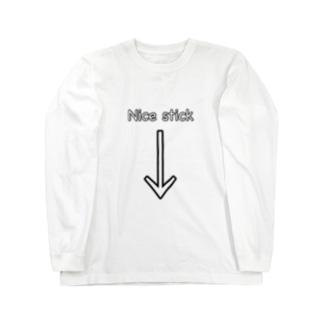 ナイススティック Long sleeve T-shirts