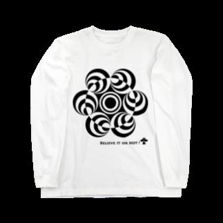 シュウのミステリーサークル06(ブラックver) Long sleeve T-shirts