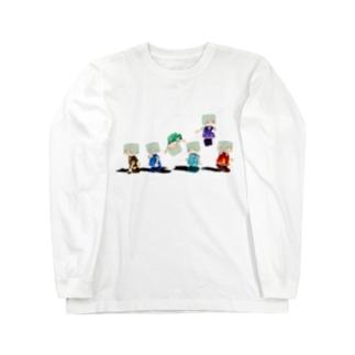 シックスエレメント Long sleeve T-shirts