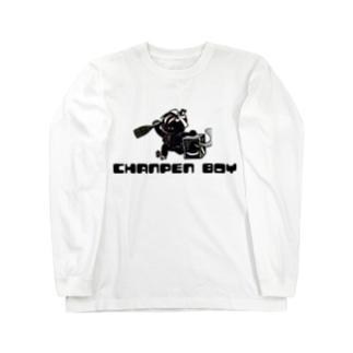 シャンパンボーイ Long sleeve T-shirts