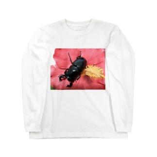 クワガタ ☆タランドゥス☆3 Long Sleeve T-Shirt