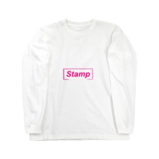 Stamp Long sleeve T-shirts