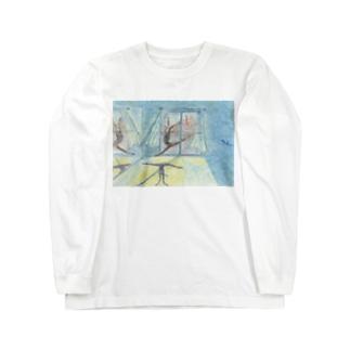 月明かりのダンサー Long sleeve T-shirts
