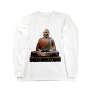 鑑真 Long sleeve T-shirts