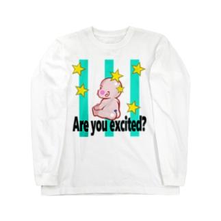 ほしBABY Long sleeve T-shirts